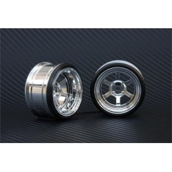 V16D 6 Spoke Offset 13mm Chrome