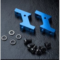 MST Aluminum Vertical Low Profile Servo Mount Blue